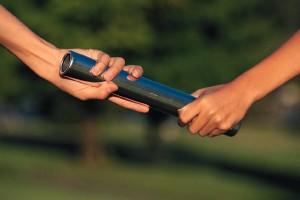 baton-passing